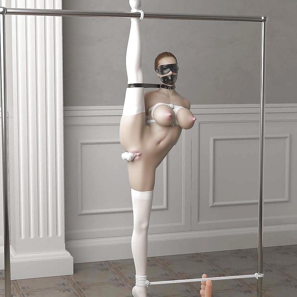 3d bondage girls-5617
