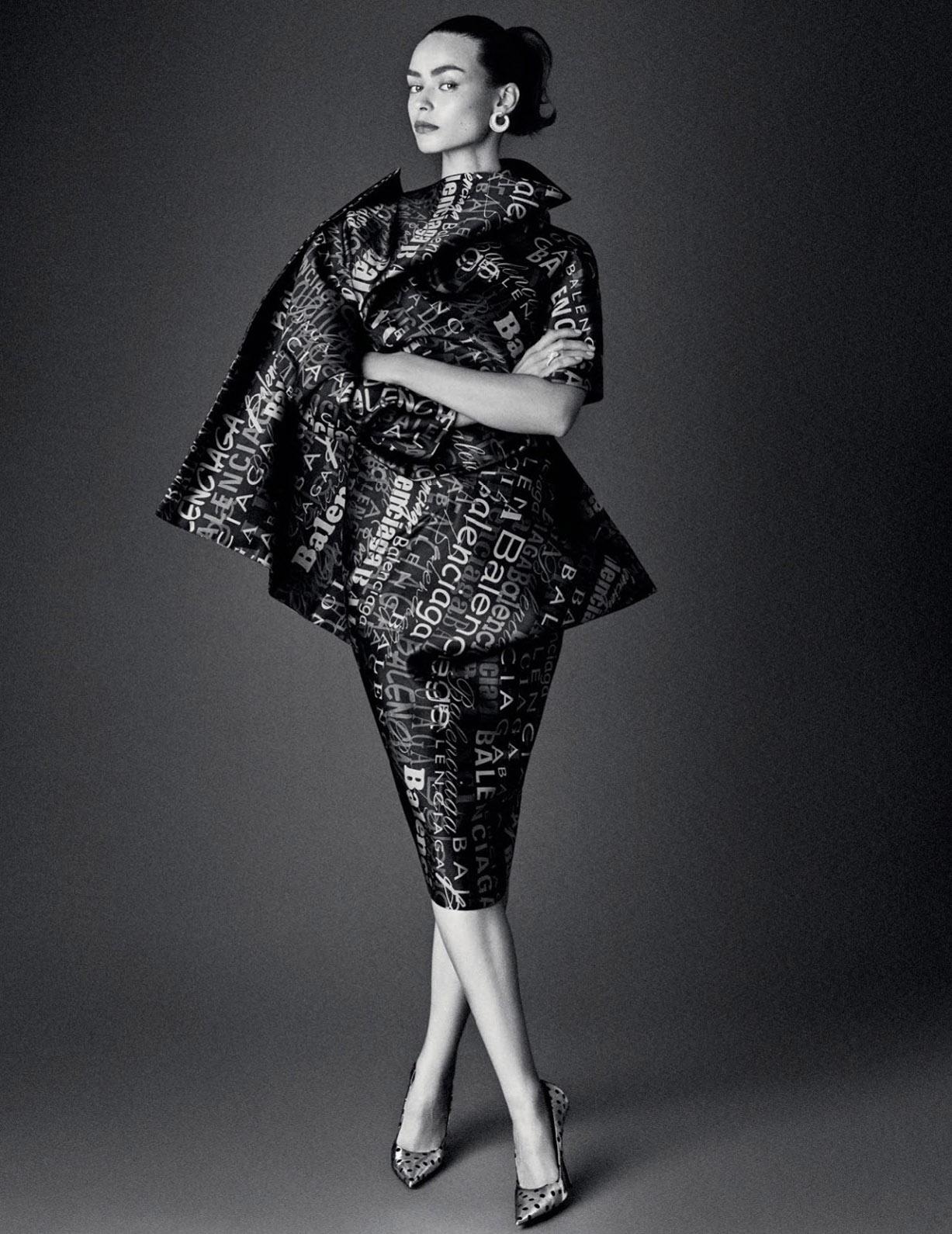 Модные тенденции - что носить весной / Birgit Kos by Giampaolo Sgura / Vogue Russia february 2019