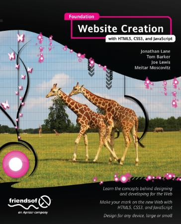 Foundation Website Creation With Html5 Css3 And Javascript