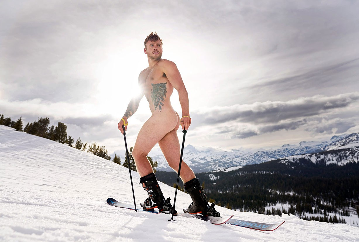 Gus Kenworthy - ESPN The Body Issue 2017 / photo by Benjamin Lowy