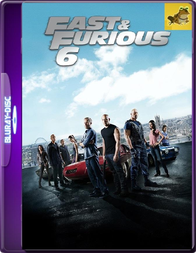 Rápidos Y Furiosos 6 (2013) Brrip 1080p (60 FPS) Latino / Inglés