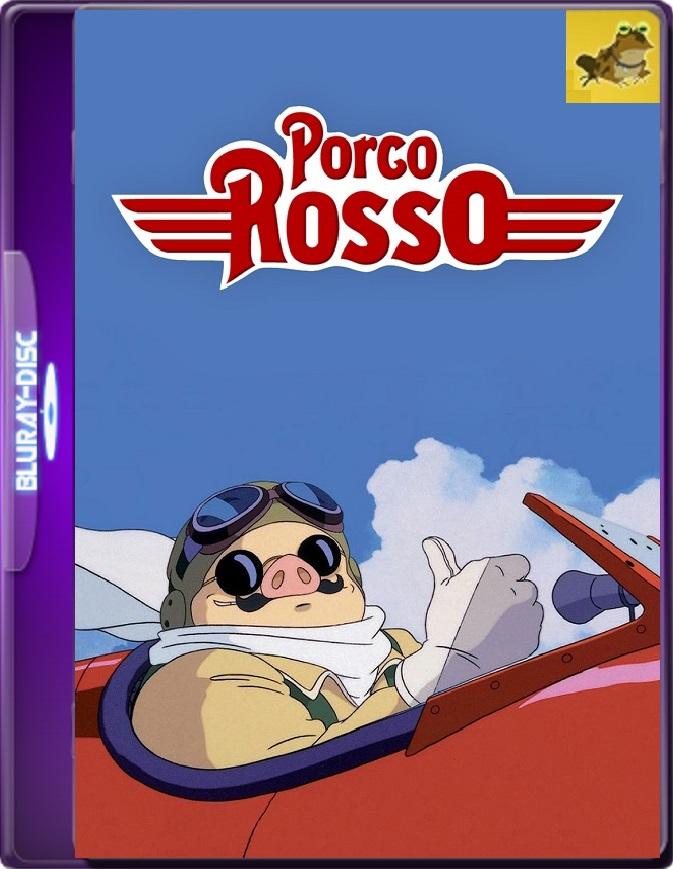 Porco Rosso (1992) Brrip 1080p (60 FPS) Latino / Japonés