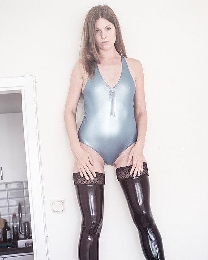 Latex stockings porn pics-7175