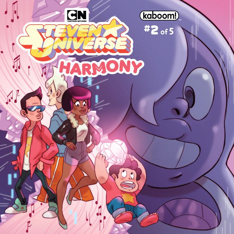 Steven Universe - Harmony #1-5 (2018) Complete