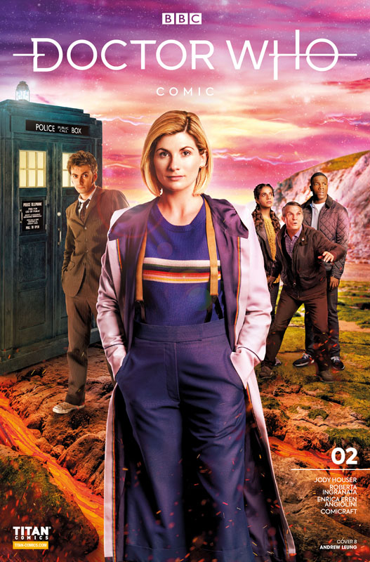 Doctor Who #1-3 (2020-2021)