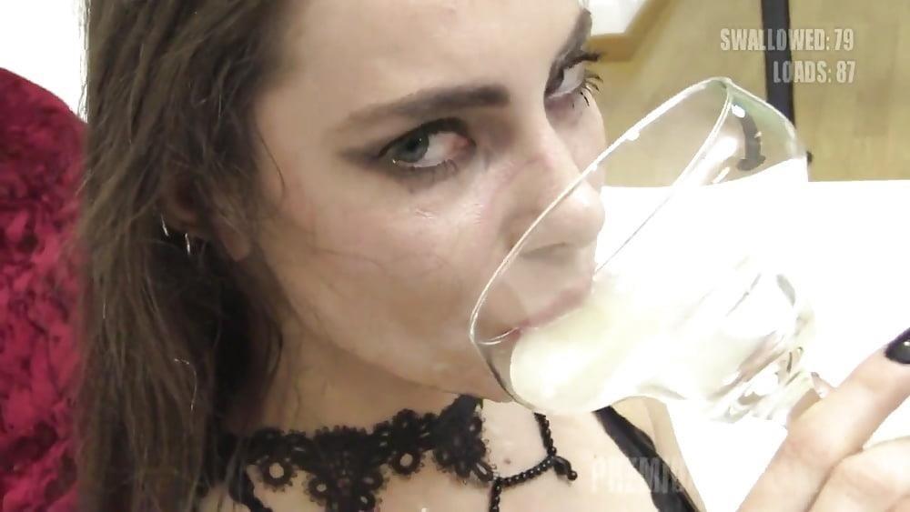 Teen bukkake swallow-8666