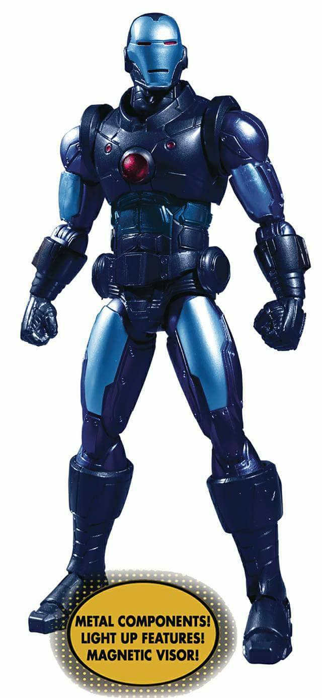 """Collective Iron Man Stealth Armor Figure - One 12"""" (Mezco Toyz) CTMnhMbX_o"""
