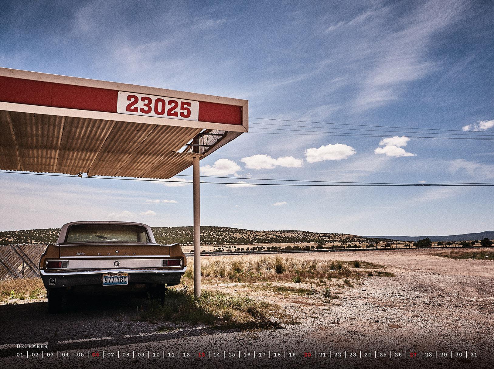 Route 66 / календарь 2020 / декабрь