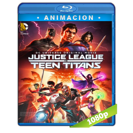La Liga De La Justicia Contra Los Jovenes Titanes 1080p Lat-Cast-Ing[Animacion](2016)