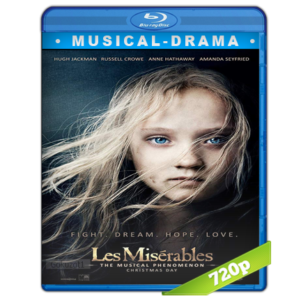 Los Miserables 720p Lat-Cast-Ing 5.1 (2012)