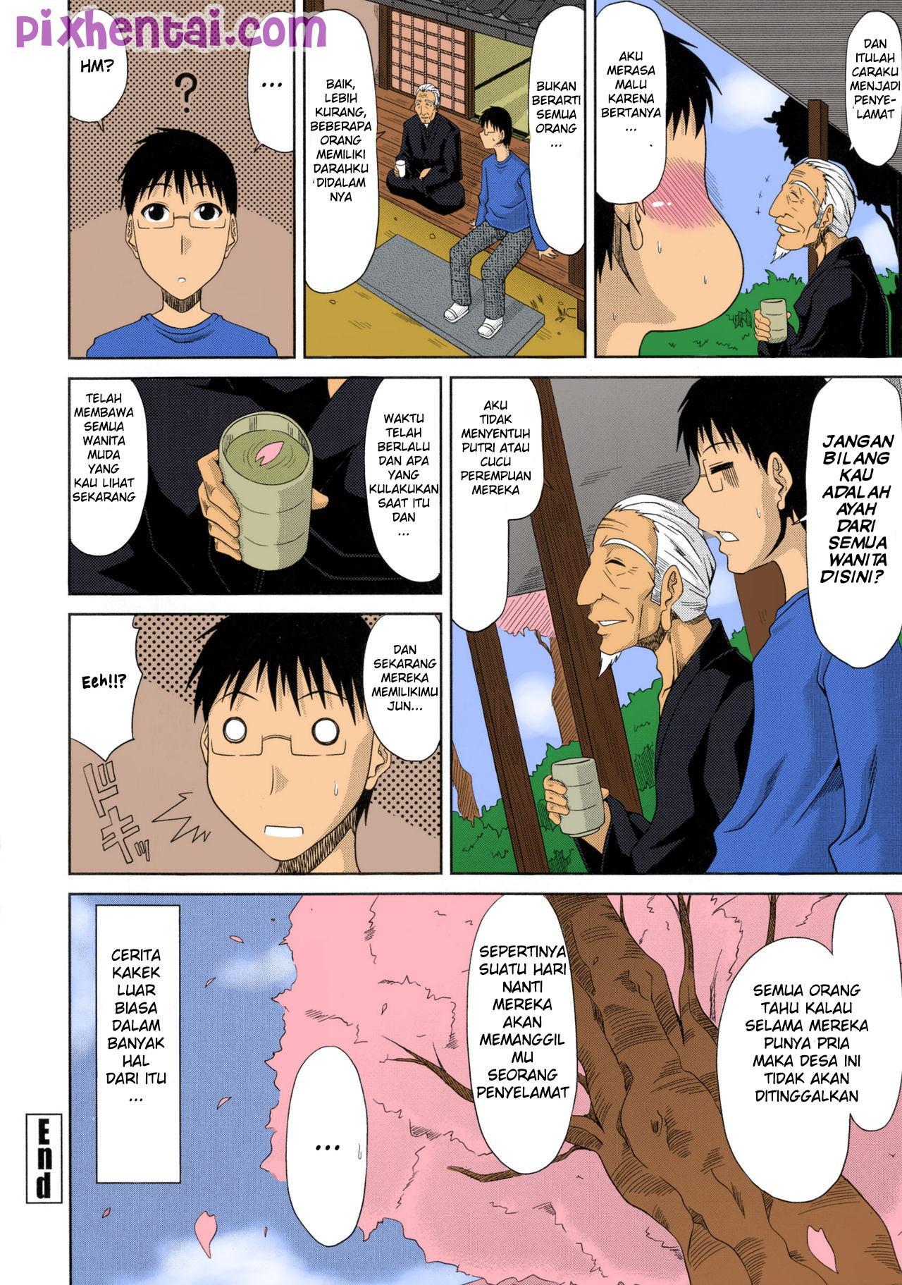 Komik hentai xxx manga sex bokep cerita kakek menghamili seluruh wanita desa 20
