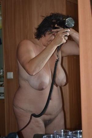 Chubby naked granny-8721