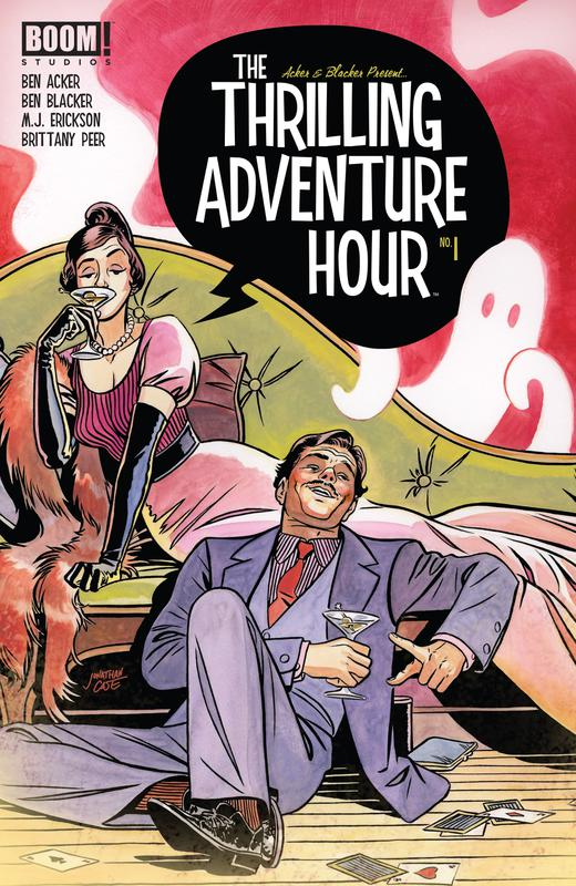 The Thrilling Adventure Hour #1-4 (2018)