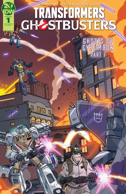 Transformers - Ghostbusters #1-5 (2019) Complete