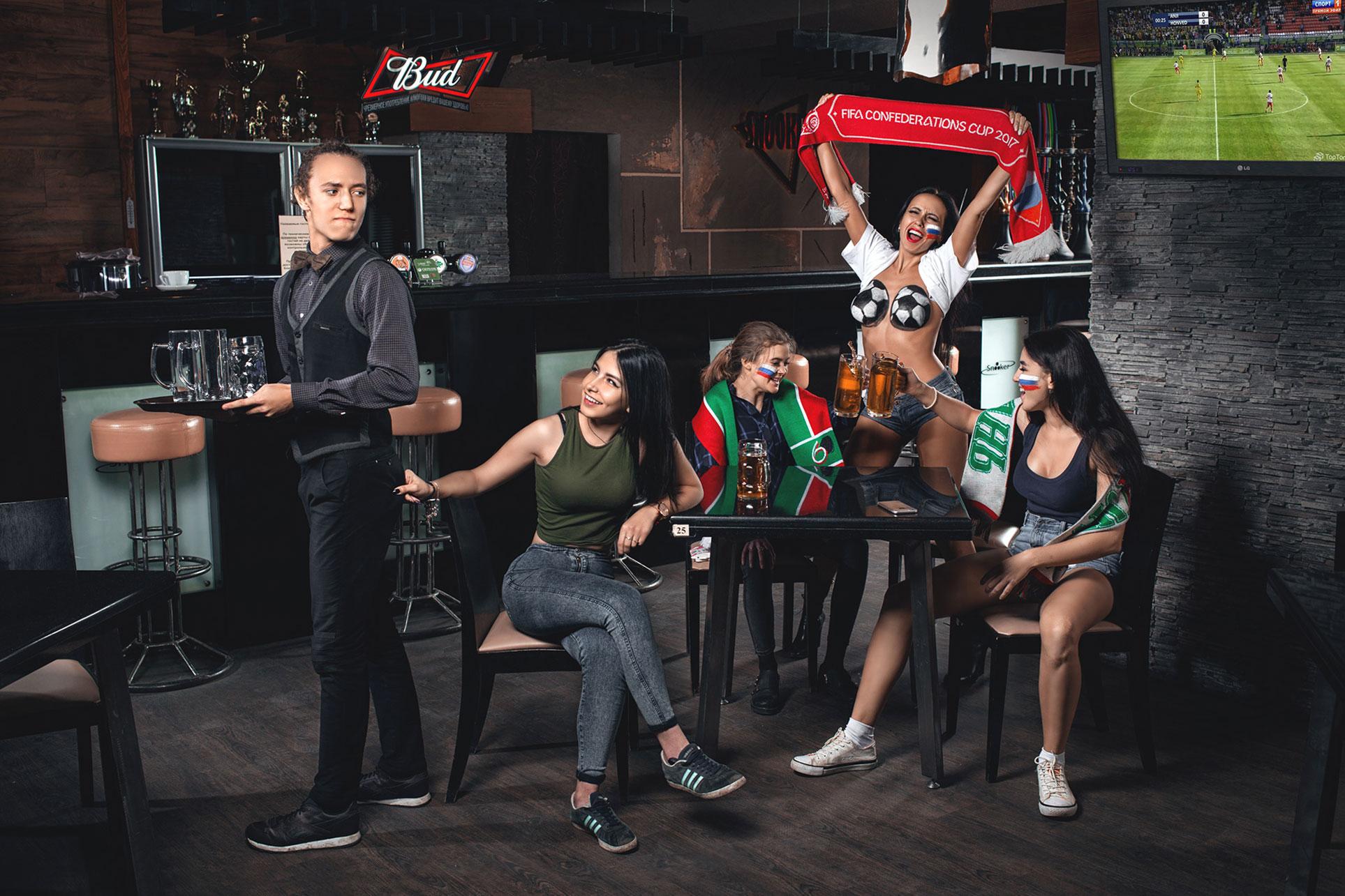 сексуально озабоченный календарь Набережночелнинского Кранового Завода 2018