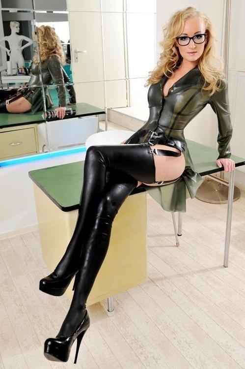 Latex stockings porn pics-3679