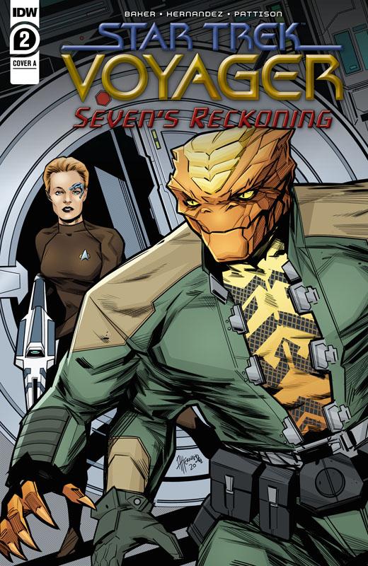 Star Trek - Voyager - Seven's Reckoning #1-4 (2020-2021)