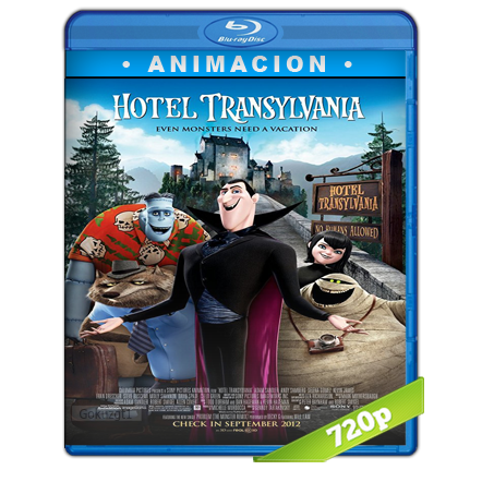 Hotel Transylvania HD720p Audio Trial Latino-Castellano-Ingles 5.1 2012