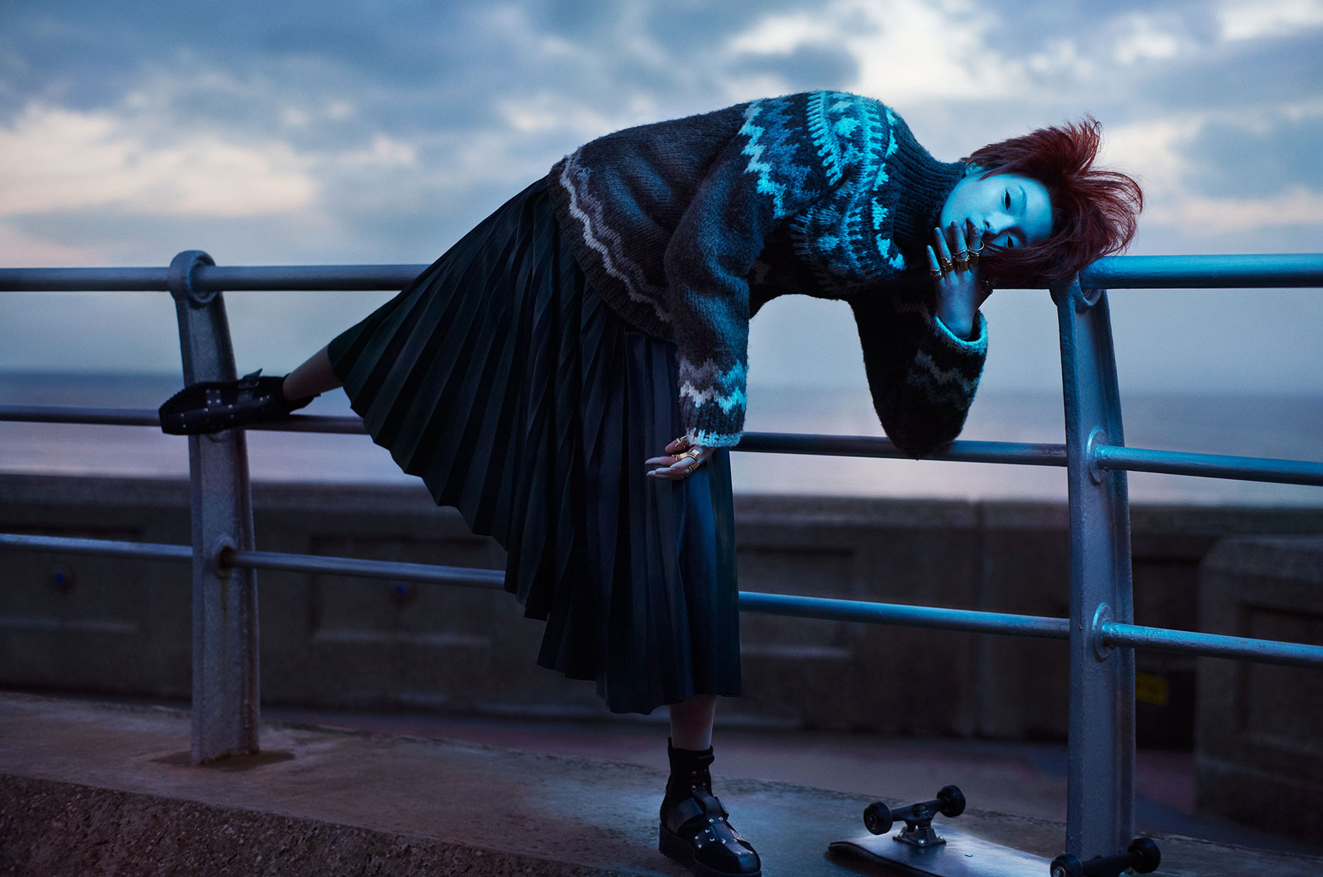 Be A Chameleon Fit In Anywhere Be A Rockstar Stand Out Everywhere / Xiao Wen Ju and Yue Ning by Solve Sundsbo / i-D Magazine