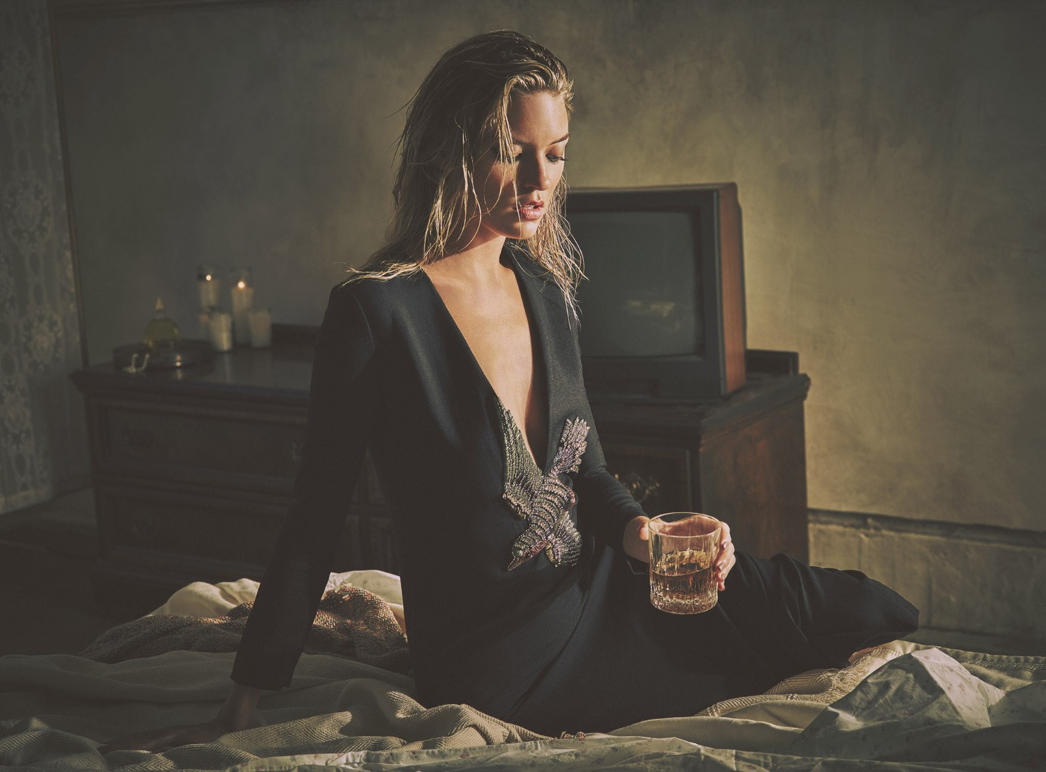 Martha Hunt by Guy Aroch - So It Goes fall/winter 2015