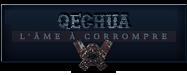 Quechua + ame a corrompre