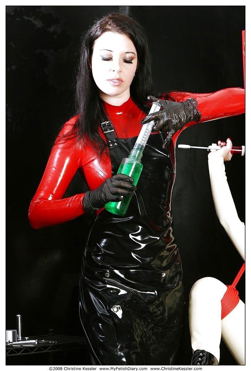 Lesbian medical bondage-8738