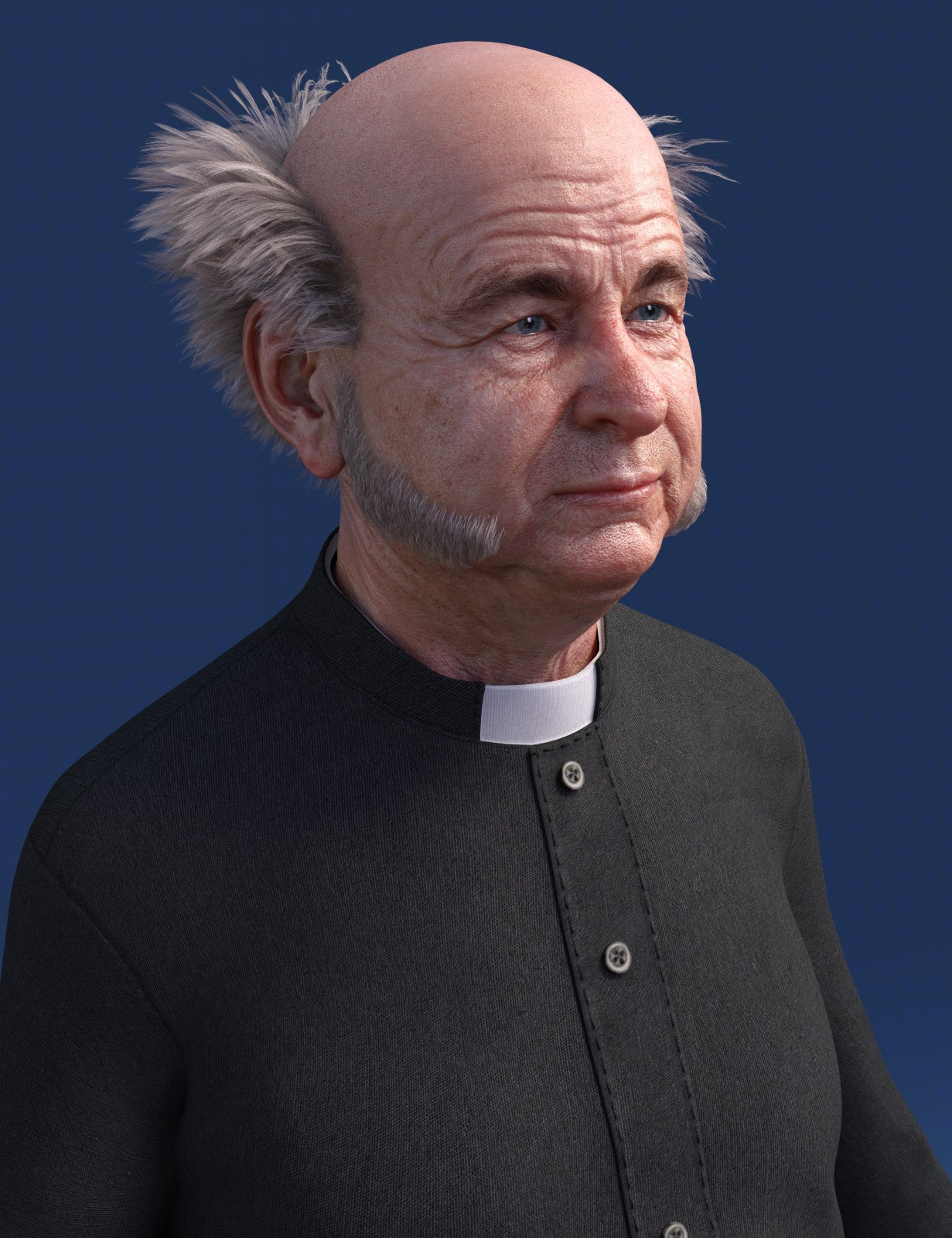 Classic Vicar Outfit for Genesis 8 Male(s)