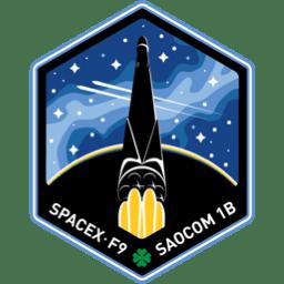 SAOCOM 1B, GNOMES-1, Tyvak-0172 patch