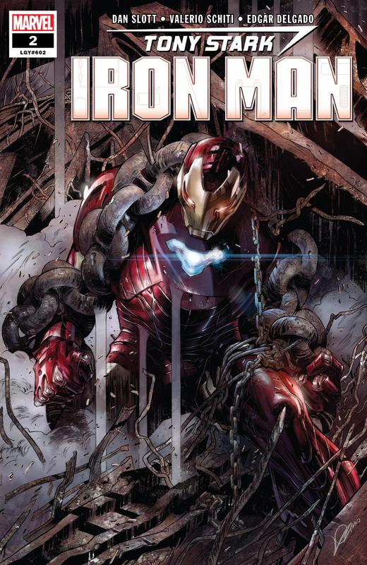 Tony Stark - Iron Man #1-19 (2018-2020) Complete