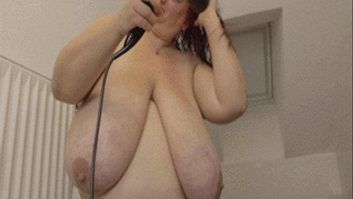 Chubby naked granny-8465