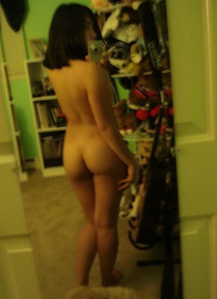 Nude asian girl selfie-2379