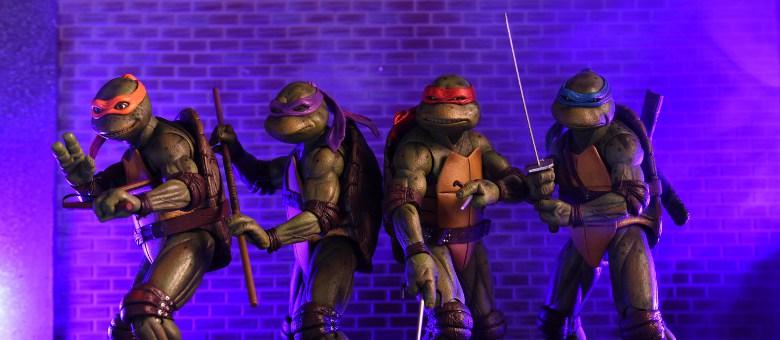 Teenage Mutant Ninja Turtles 1990 Exclusive Set (Neca) FTsdM2YQ_o