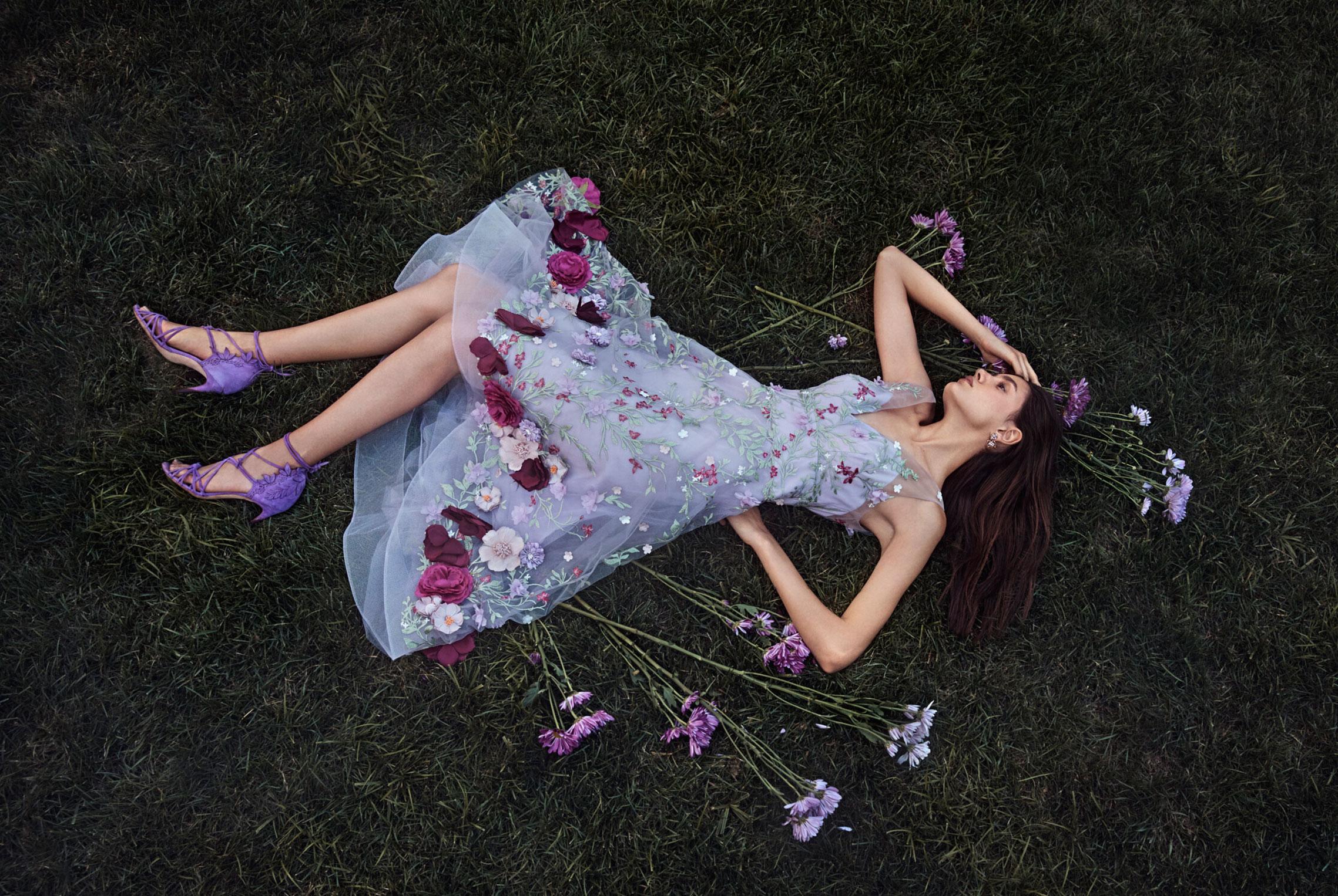 Коллекция модной одежды Marchesa, сезон весна-лето 2020 / фото 06