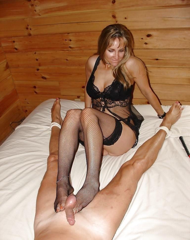Mistress milking slave-1996