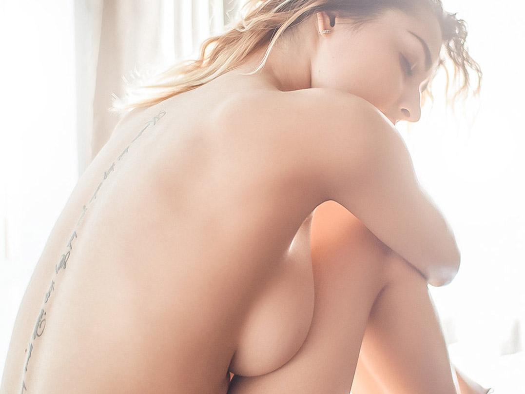 London, Baby nude by Stefan Vasilev