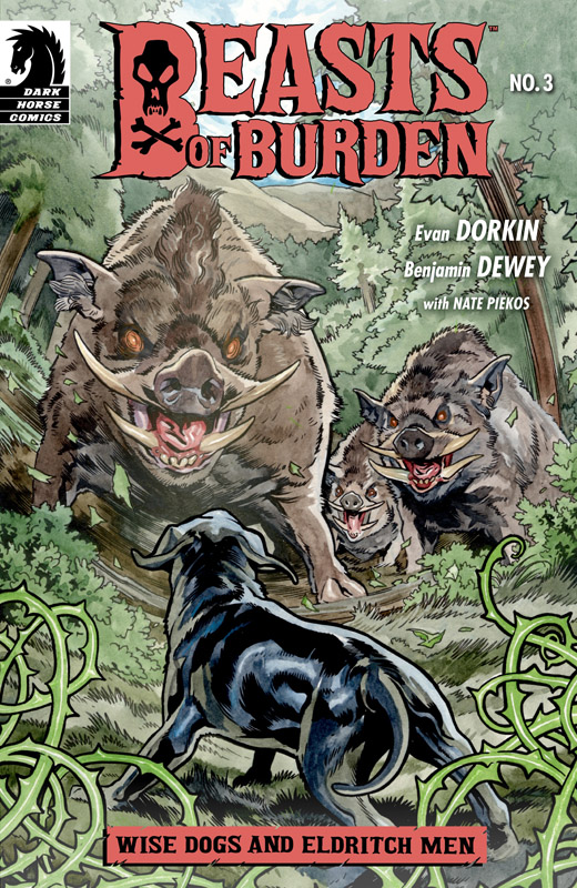 Beasts of Burden - Wise Dogs and Eldritch Men #1-4 (2018) Complete