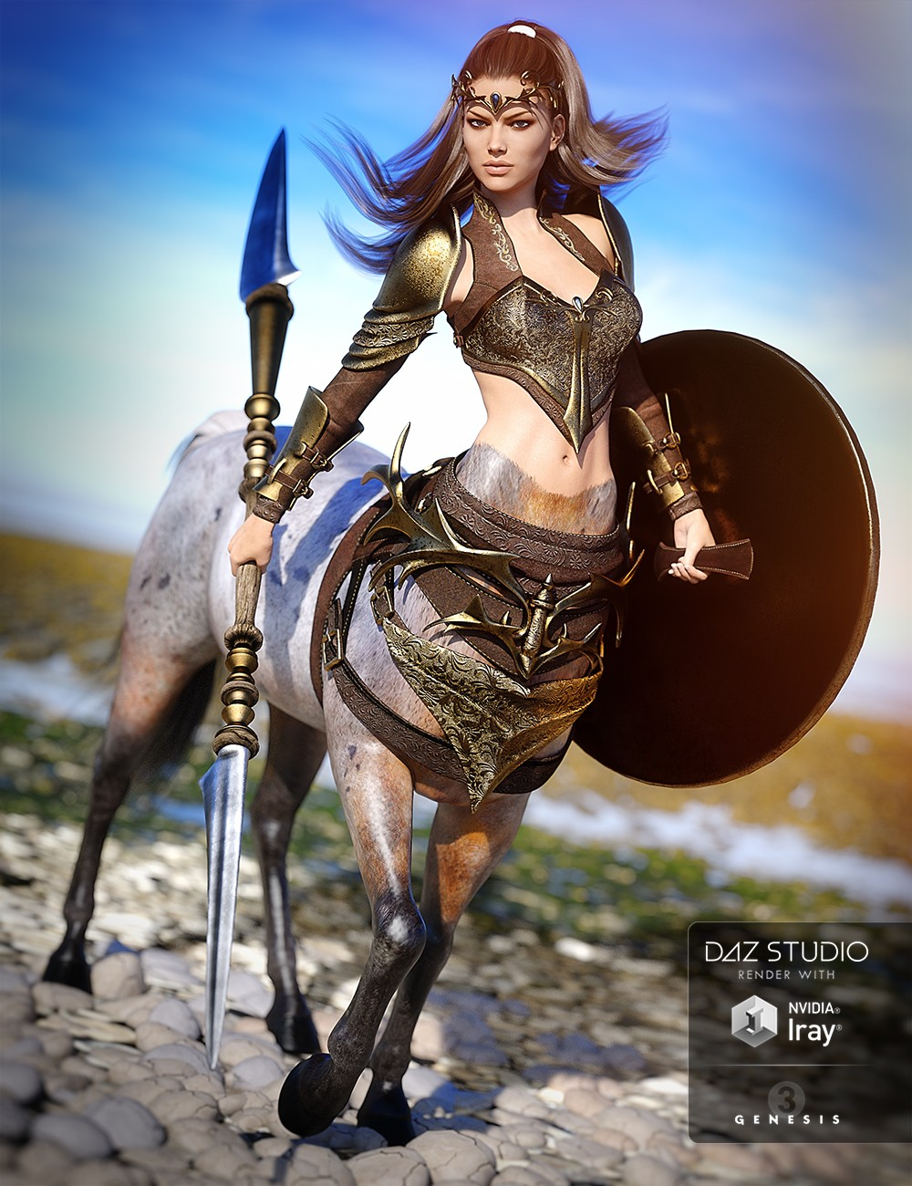 Guardian Outfit for Centaur 7 Female