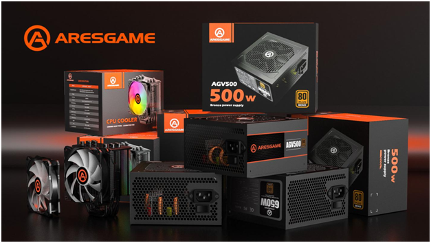 ARESGAME Introduces World-Class Power Supply Units with Well-Designed, Aesthetically Pleasing, Powerful, and Modern Features