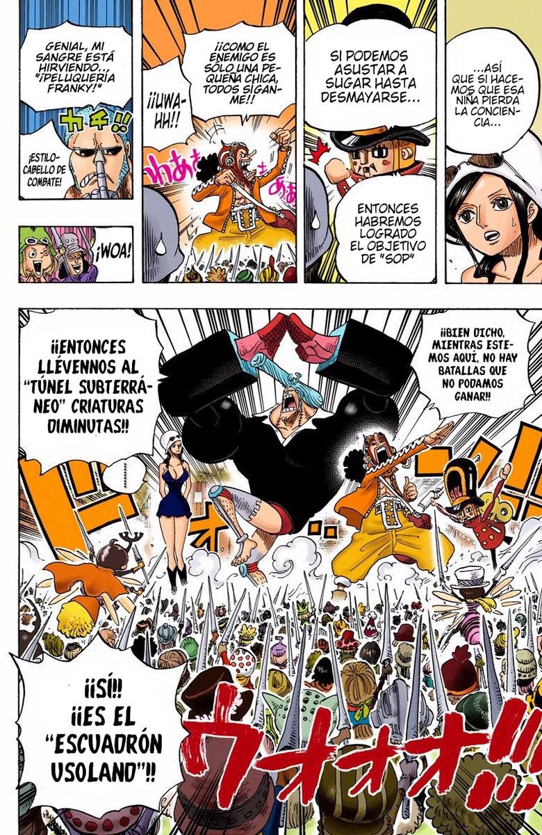 One Piece Manga 730-731 [Full Color] [Dressrosa] JkzQRPCF_o