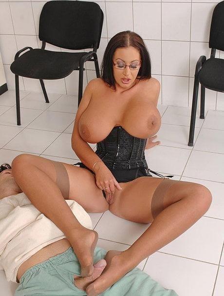 Nylon feet porn-5926