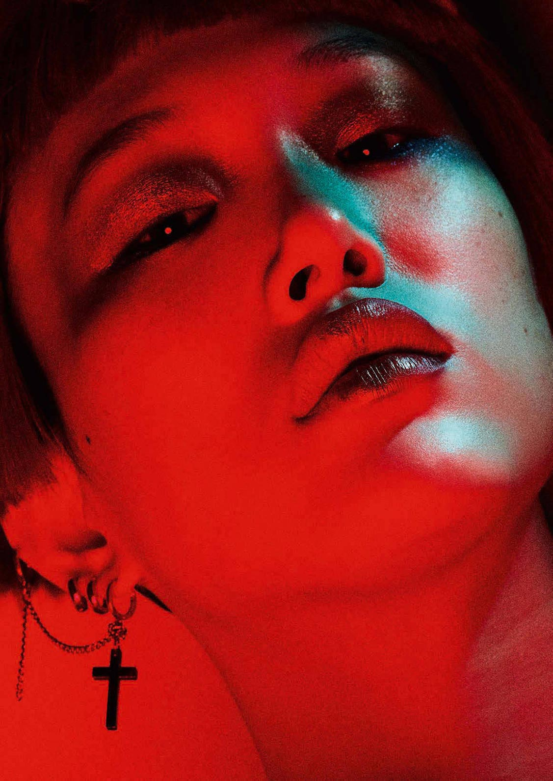 Play It Loud / Sora Choi by Ben Hassett - Vogue Germany march 2018