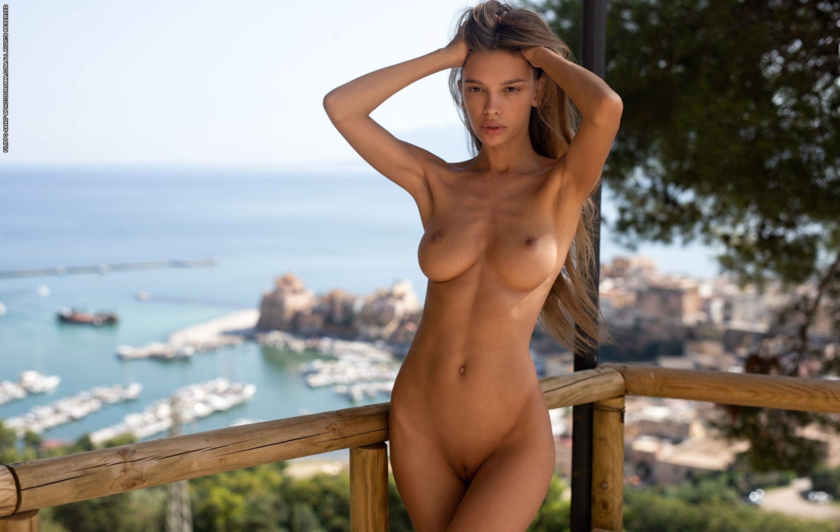 эротические открытки фотомодели Алины Ротару / фото 09