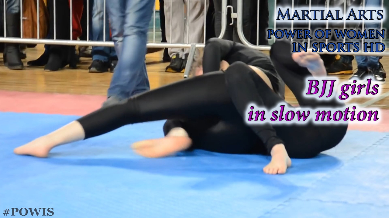 BJJ girls in slow motion