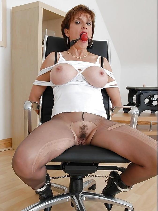 Femdom gagged slave-3153