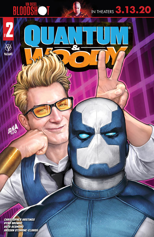 Quantum and Woody #1-4 (2020)