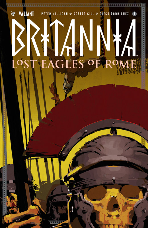 Britannia - Lost Eagles of Rome #1-3 (2018)