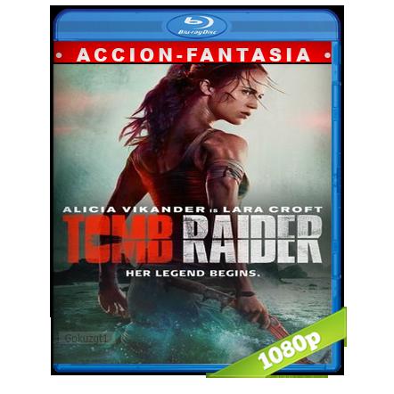 Tom Raider Las Aventuras De Lara Croft 1080p Lat-Cast-Ing 5.1 (2018)