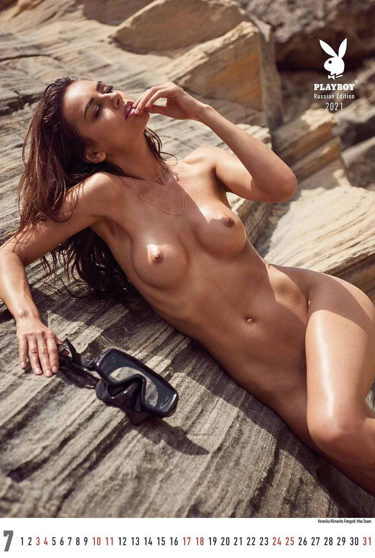 Эротический календарь журнала Playboy Россия на 2021 год / июль / Veronika Klimovits