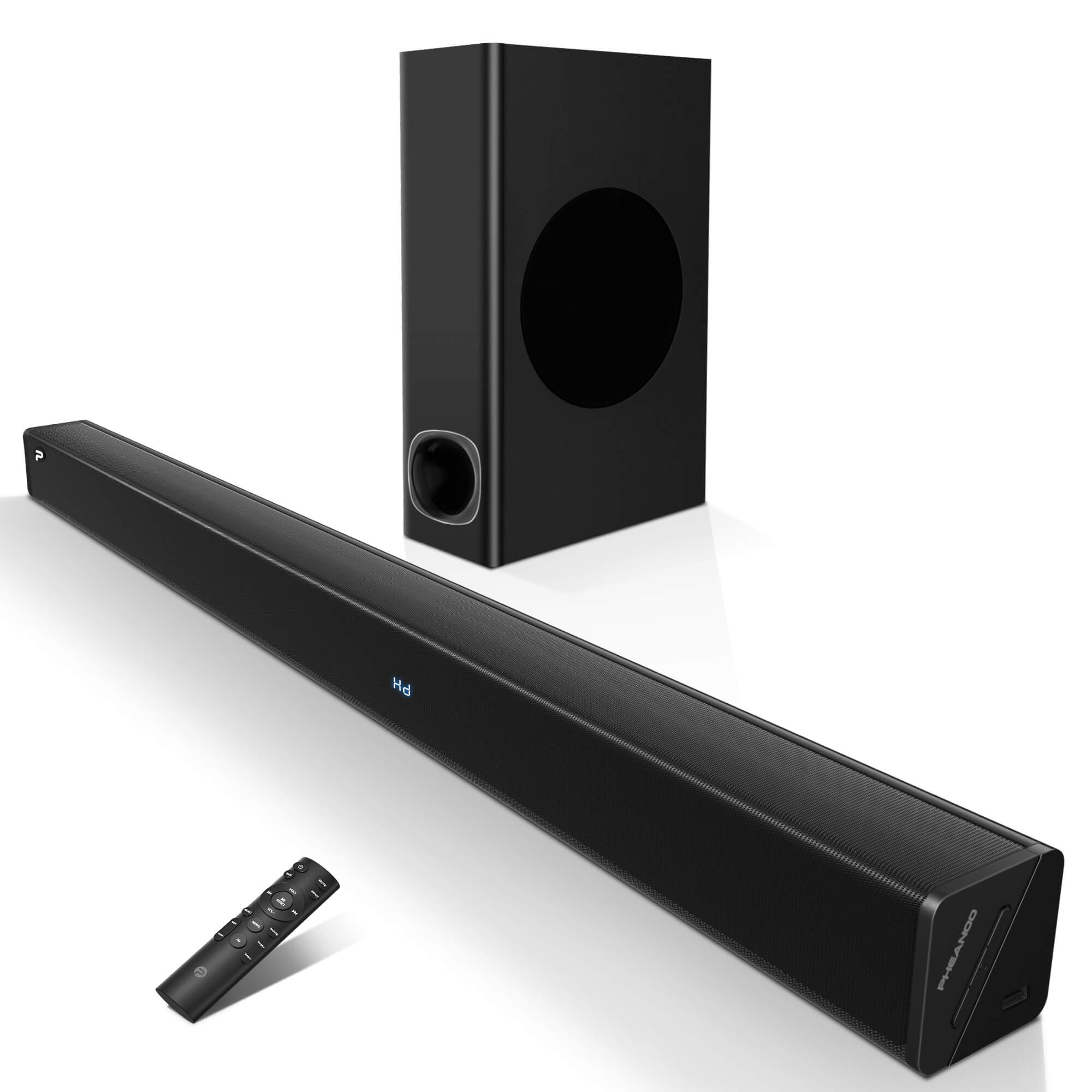 Pheanoo Audio Ltd Presents Sophisticated Sound Bars With Subwoofer P27 With Bluetooth For Home Theater Systems