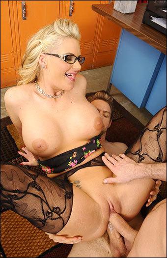 Phoenix Marie - Fucking In The Desk With Her Big Ass / My First Sex Teacher (2013) WEB-DLRip 720p |